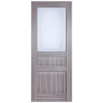 Полотно дверное остеклённое Artens Мария 200х80 см цвет натуральный дуб