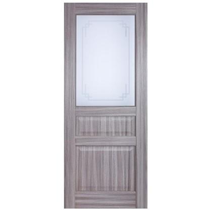 Полотно дверное остеклённое Artens Мария 200х90 см цвет натуральный дуб