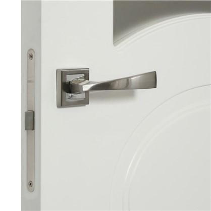 Полотно дверное остеклённое Дэлия 200х80 см цвет белый