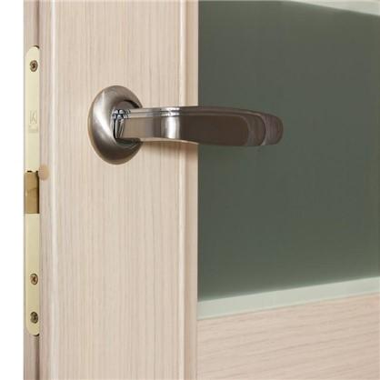 Полотно дверное остеклённое Конкорд cpl 200х60 см цвет выбеленый дуб