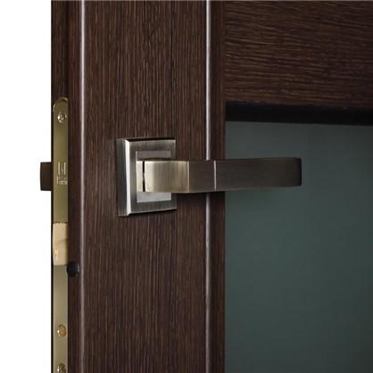 Полотно дверное остеклённое Конкорд cpl 200х90 см цвет черный дуб