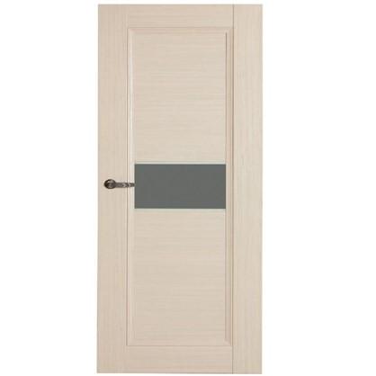 Полотно дверное остеклённое Конкорд cpl 200х90 см цвет выбеленый дуб