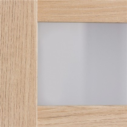 Полотно дверное остеклённое Лайн 200х60 см цвет дуб глостер