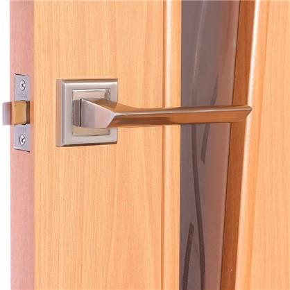 Купить Полотно дверное остеклённое ламинированное Белеза 200х70 см цвет миланский орех дешевле