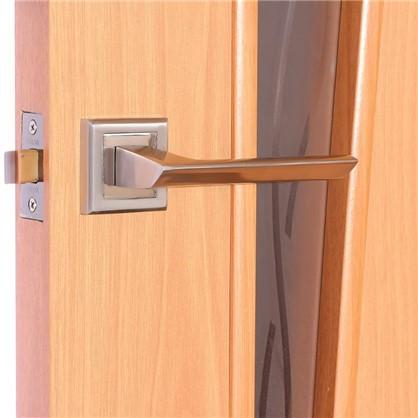 Полотно дверное остеклённое ламинированное Белеза 200х80 см цвет миланский орех