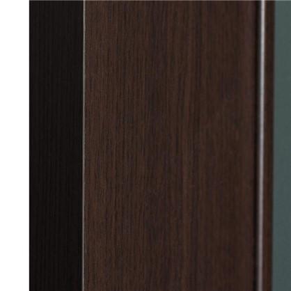 Полотно дверное остеклённое ламинированное Белеза 200x80 см цвет венге