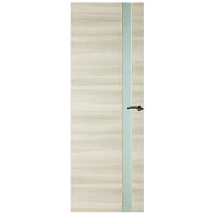 Полотно дверное остеклённое ламинированное Унико 200x60 см цвет светлый орех