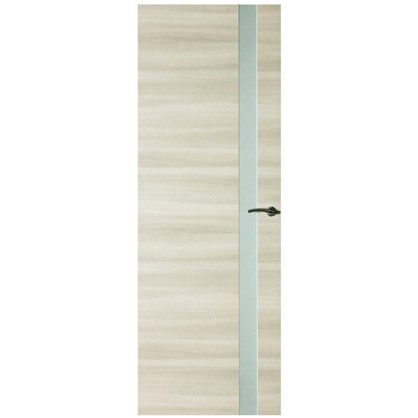 Купить Полотно дверное остеклённое ламинированное Унико 200x70 см цвет светлый орех дешевле