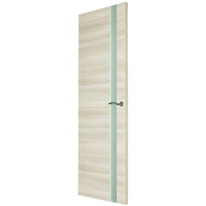 Полотно дверное остеклённое ламинированное Унико 200x70 см цвет светлый орех