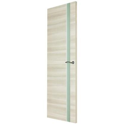 Полотно дверное остеклённое ламинированное Унико 200x80 см цвет светлый орех
