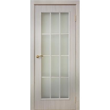 Полотно дверное остеклённое Провенца 200x60 см цвет