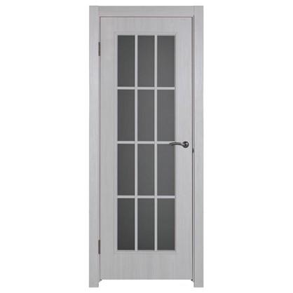 Полотно дверное остеклённое Провенца 200x80 см цвет