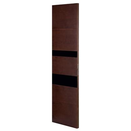 Полотно дверное остеклённое шпонированное Модерн 200х60 см цвет антик