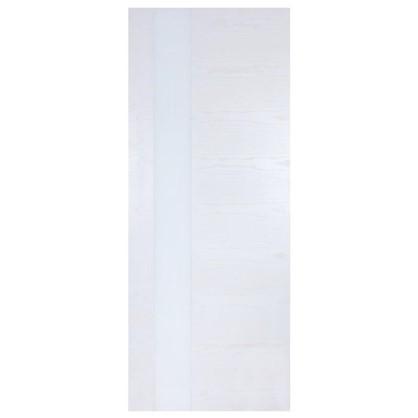 Купить Полотно дверное остеклённое шпонированное Модерн 200х60 см цвет белый ясень дешевле