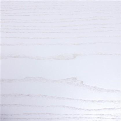 Полотно дверное остеклённое шпонированное Модерн 200х60 см цвет белый ясень