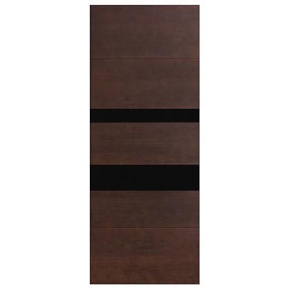 Купить Полотно дверное остеклённое шпонированное Модерн 200х70 см цвет антик дешевле