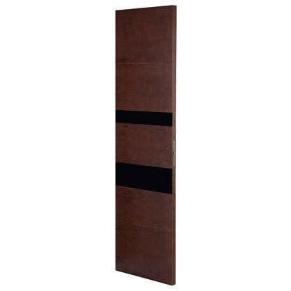 Полотно дверное остеклённое шпонированное Модерн 200х80 см цвет антик