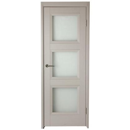 Полотно дверное остеклённое Трилло 200х60 см цвет ясень