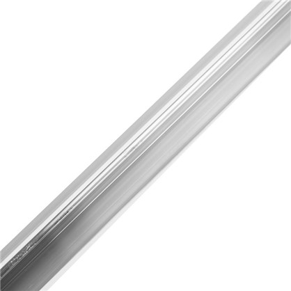 Порог одноуровневый (стык) Т-образный 0.9 м цвет алюминий