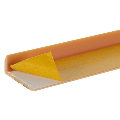 Порог угловой (угол) антискользящий 0.9 м цвет орех