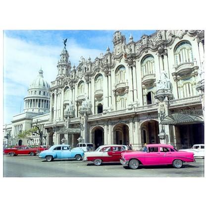 Постер на стекле 47х64 см Гавана Куба