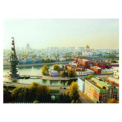 Постер на стекле 47х64 см Вид на Москву