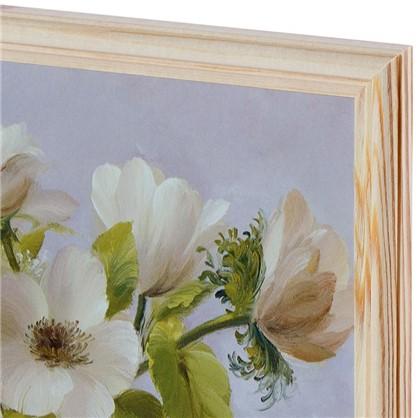 Купить Постер в раме 20х25 см Цветы дешевле