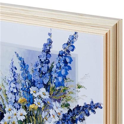 Купить Постер в раме 20х25 см Цветы в вазе дешевле