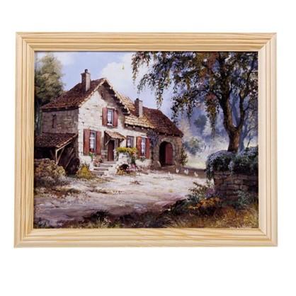 Купить Постер в раме 20х25 см Осенний пейзаж дешевле