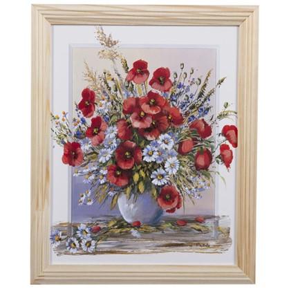 Купить Постер в раме 20х25 см Полевые Цветы дешевле
