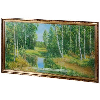 Постер в раме 50х100 см Пейзаж