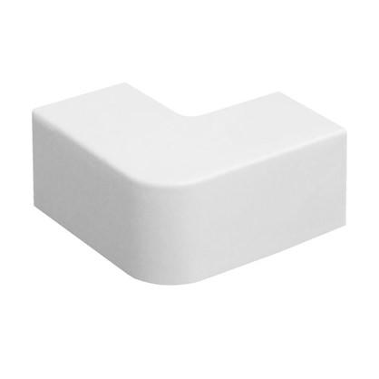 Поворот 90 градусов 12/12 мм цвет белый 4 шт.