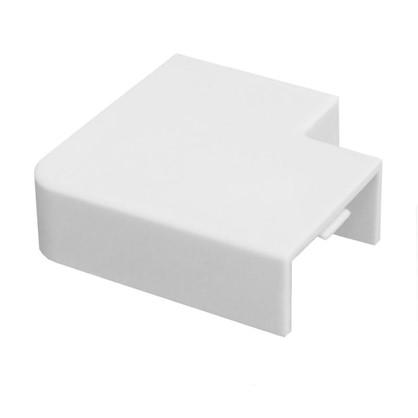Поворот 90 градусов 20/10 мм цвет белый 4 шт.