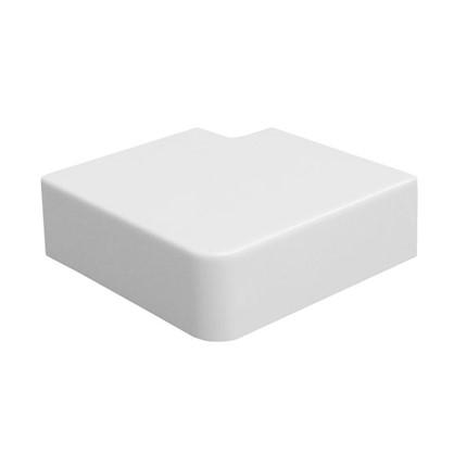 Поворот 90 градусов 40/16 мм цвет белый 4 шт.