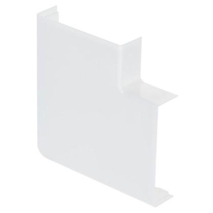 Поворот 90 градусов 74х20 белый мм цвет белый 2 шт.