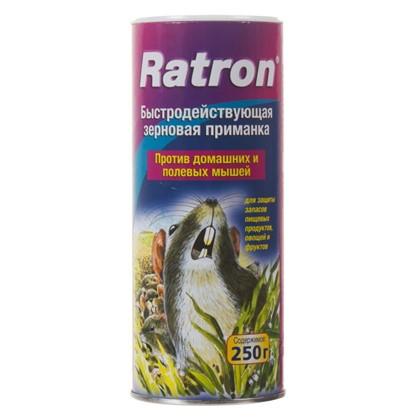 Купить Приманка для грызунов и полевых мышей Ratron зерновая 250 г/250 кв.м дешевле