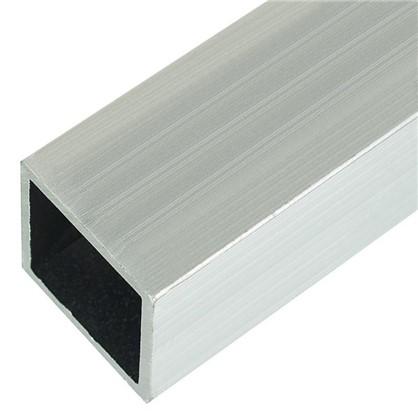 Профиль алюминиевый квадратный трубчатый 20х20х1.5x2000 мм