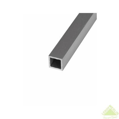 Купить Профиль алюминиевый квадратный трубчатый 25х25х1.5x2000 мм дешевле