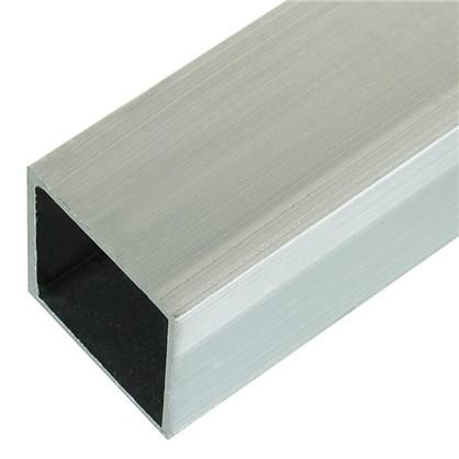 Профиль алюминиевый квадратный трубчатый 30х30х1.5x2000 мм
