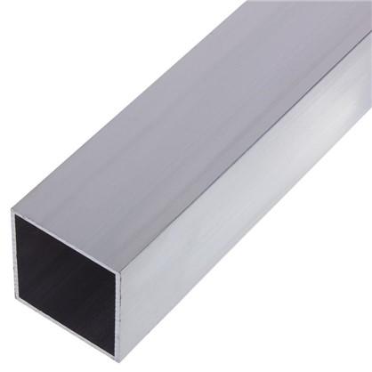 Профиль алюминиевый квадратный трубчатый 40х40х1.5x2000 мм