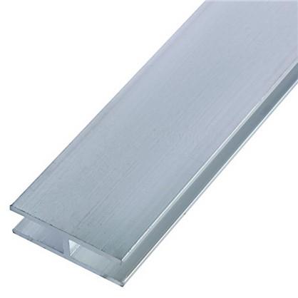 Профиль алюминиевый Н-образный 25х8х25х1.5x2000 мм