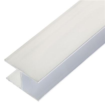 Профиль алюминиевый Н-образный 30х20х30х1.5x1000 мм