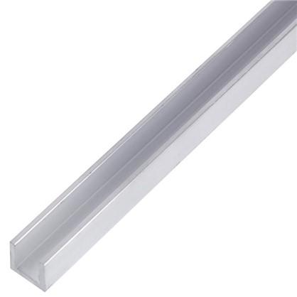 Купить Профиль алюминиевый П-образный 10х10х10х1.5x1000 мм дешевле