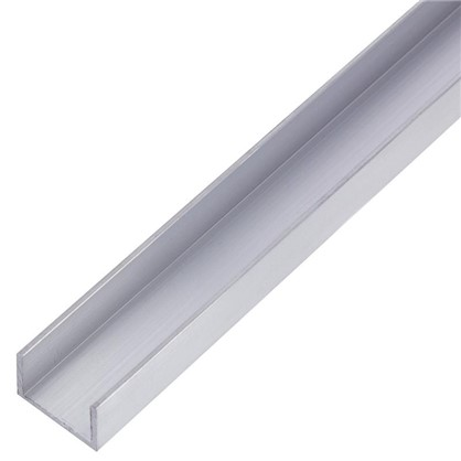 Профиль алюминиевый П-образный 10х15х10х1x1000 мм