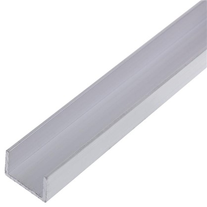 Профиль алюминиевый П-образный 10х15х10х1x2000 мм