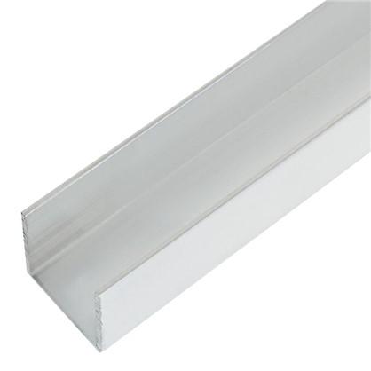 Профиль алюминиевый П-образный 20х20х20х1.5x1000 мм