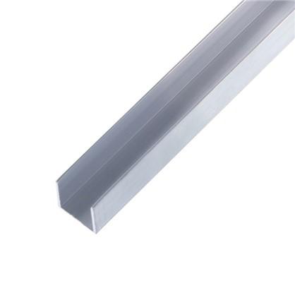 Профиль алюминиевый П-образный 20х20х20х1.5x2000 мм