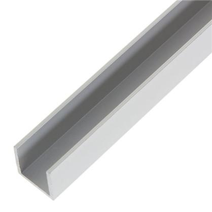 Профиль алюминиевый П-образный 20х25х20х2x1000 мм