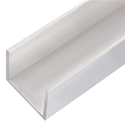 Профиль алюминиевый П-образный 25х30х25х2x1000 мм
