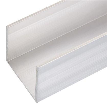 Профиль алюминиевый П-образный 30х30х30х1.5x1000 мм